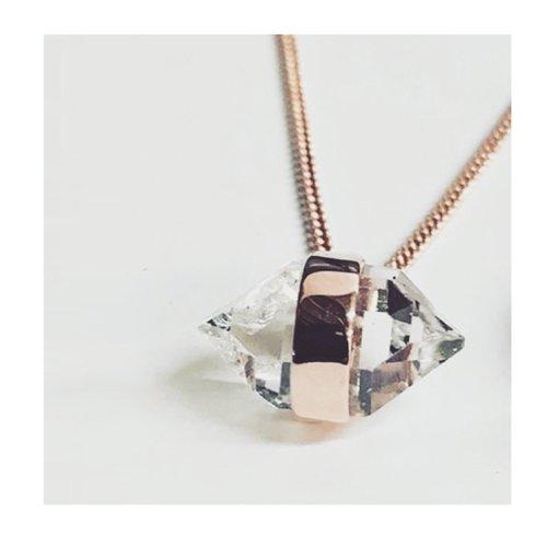 Precious herkimer diamond pendant jill urwin precious herkimer diamond pendant aloadofball Gallery