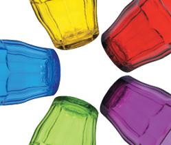 Duralex - Durable, stackable glassware.
