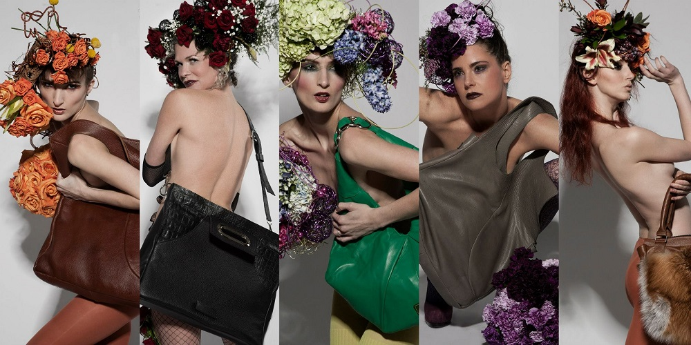 S. Fairchild & Fleurie handbags and flowers