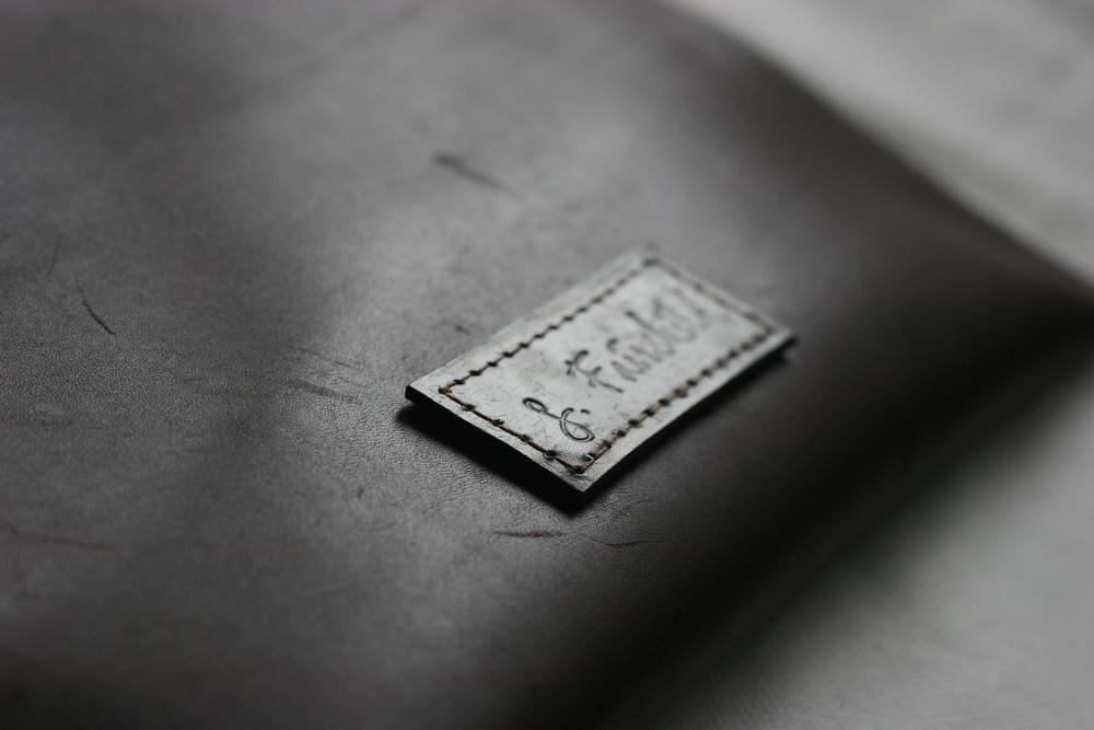 S. Fairchild Leather Folio Clutch