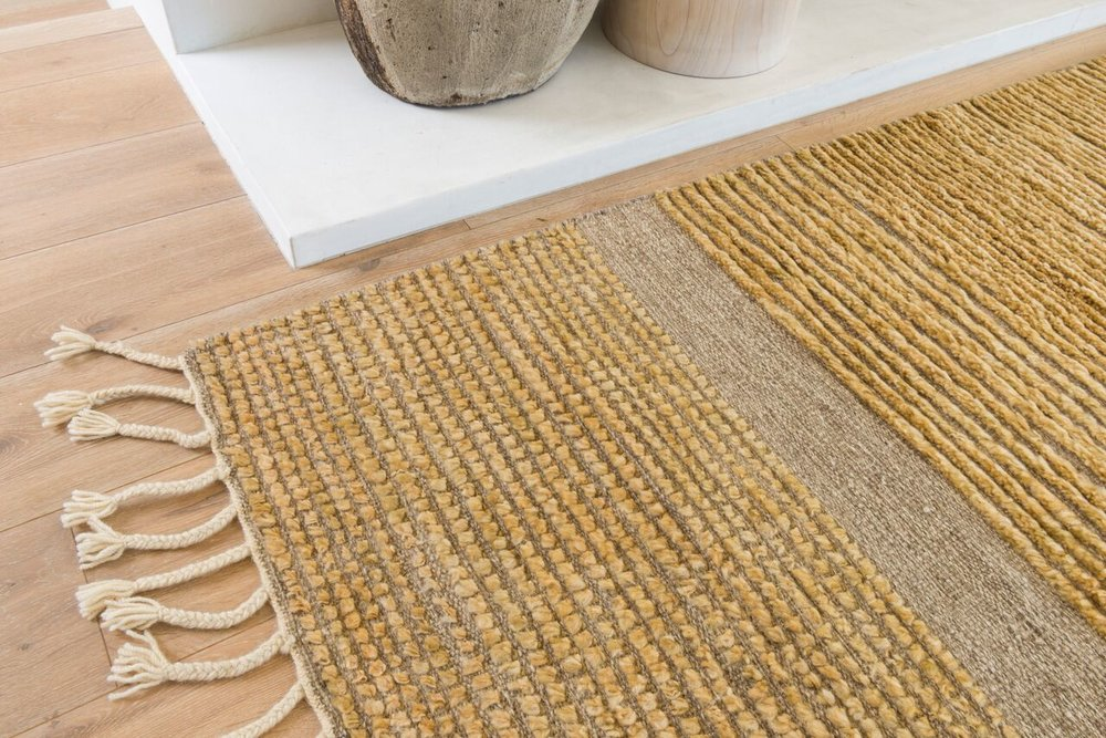 NEEDLEGRASS RUG BY DISC COLLECTION FOR MARC PHILLIPS RUGS
