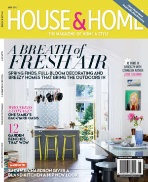 house home may 2017 - House And Homes Magazine