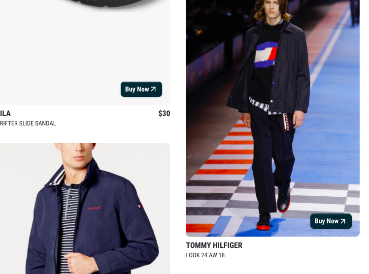 TOMMY HILFIGER SERIES - Ever wanted to look like you stepped off the runway? I've been reviewing all the A/W 18 shows and thought I'd help show you how easy it is to create your own look just like you stepped off Tommy Hilfiger's runway. This features both mens and womens looks. Tommy always hits the mark when it comes to americana heritage style. Click the image or follow the link below and see how you can create your own runway look for FRACTION of the price. xx yours in style, AB