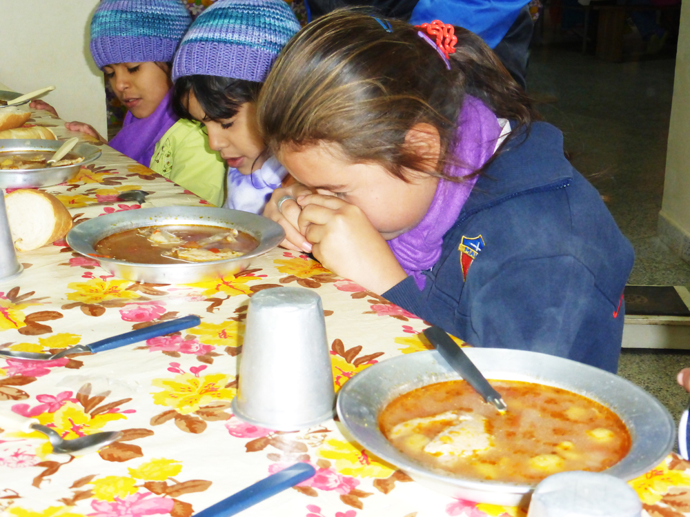 Feed children at our feeding centers in Paraguay and Peru today     Click Here
