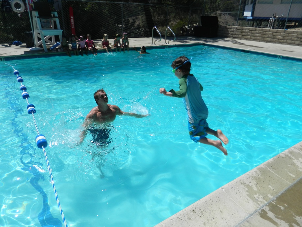 Our goal is for campers to be water safe and learn to love swimming.