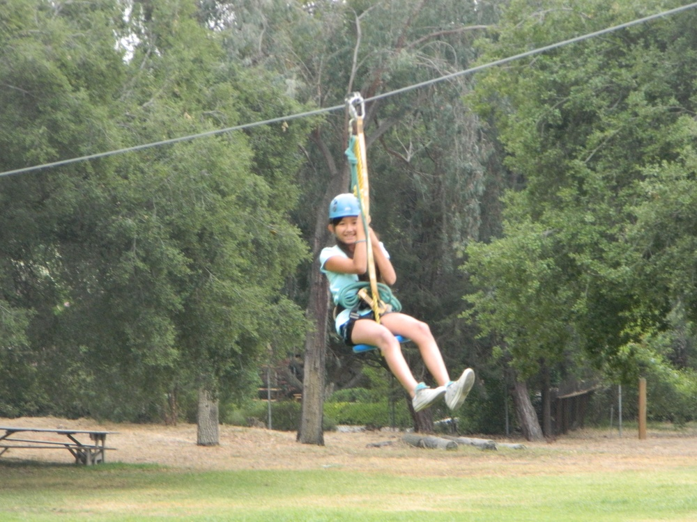 complete with a Zip line (it's rather fun!);