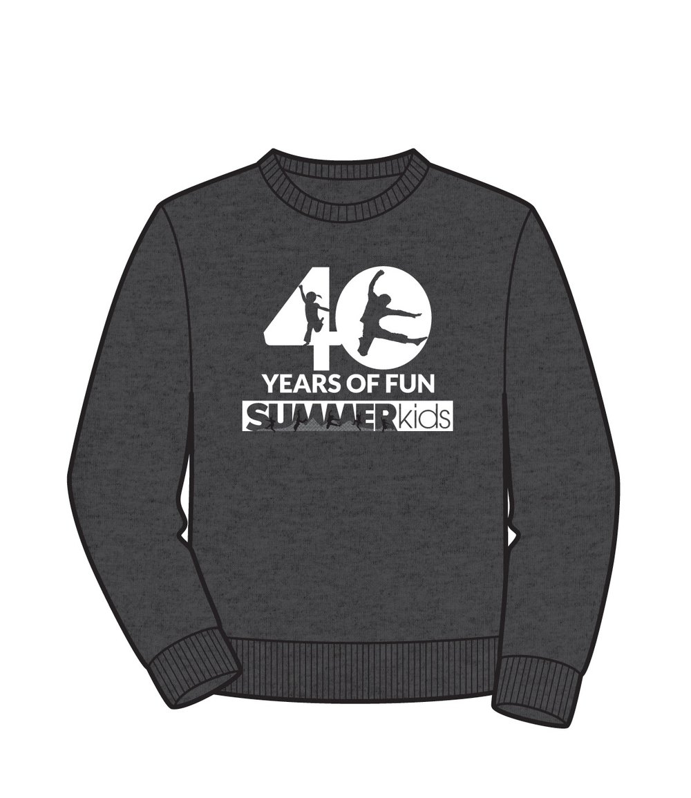 """40 Years of Fun"" sweatshirt"
