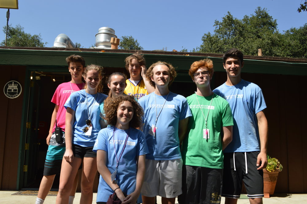 We also have a great group of Junior Counselors-in-Training,