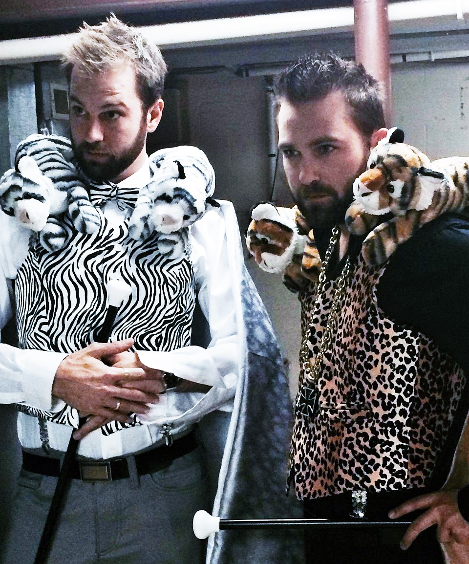 Tock Custom - Siegfried & Roy Costumes