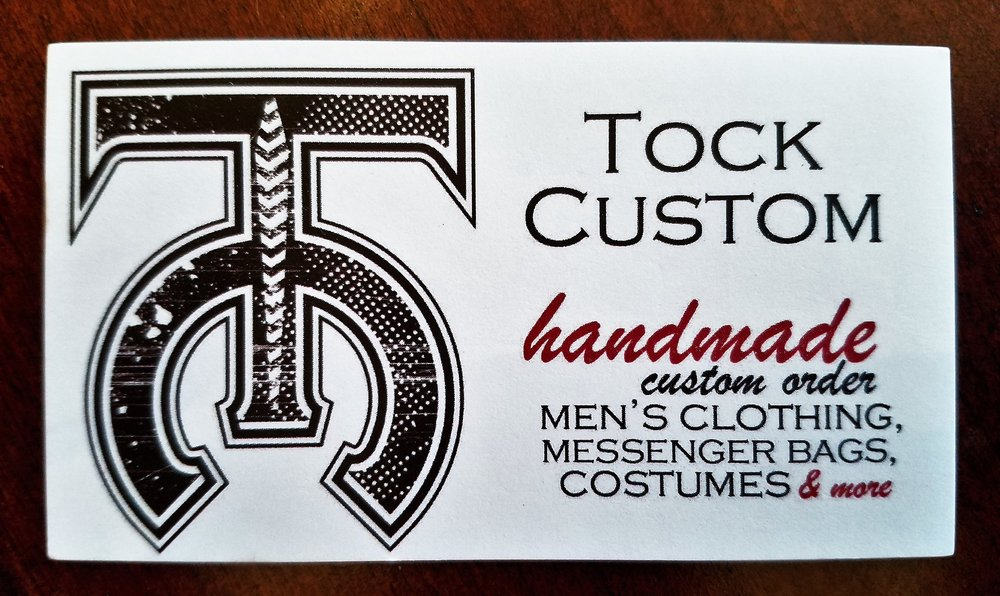 Tock Custom business card
