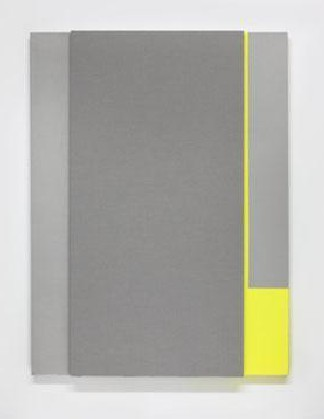 Acoustic absorber panel and acrylic paint on canvas, 36 x 48 inches. Photograph by Cathy Carver / Courtesy Hirshhorn Museum and Sculpture Garden, Smithsonian Institution