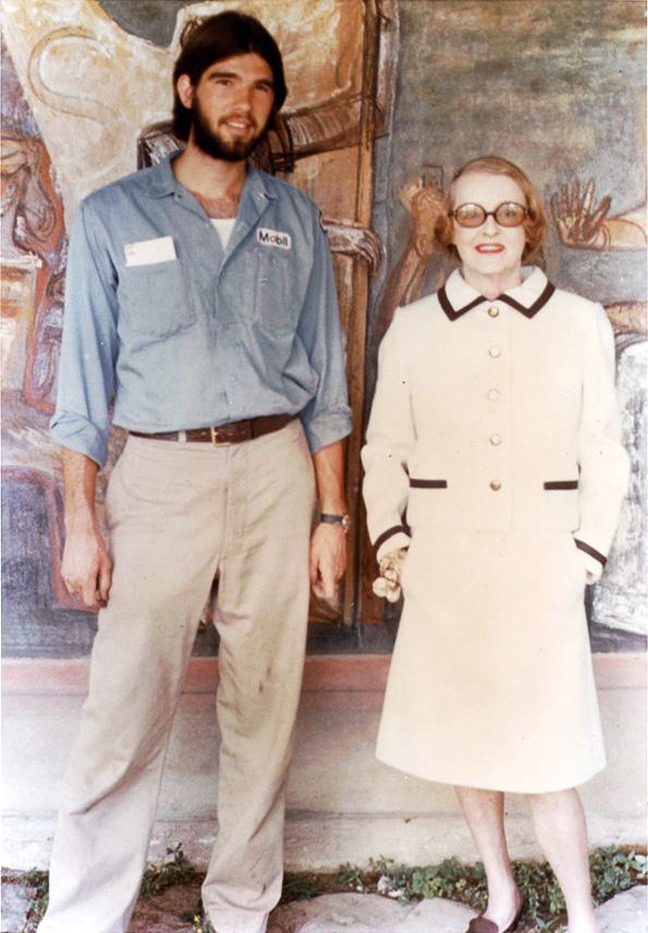 Participant with Bette Davis, 1972