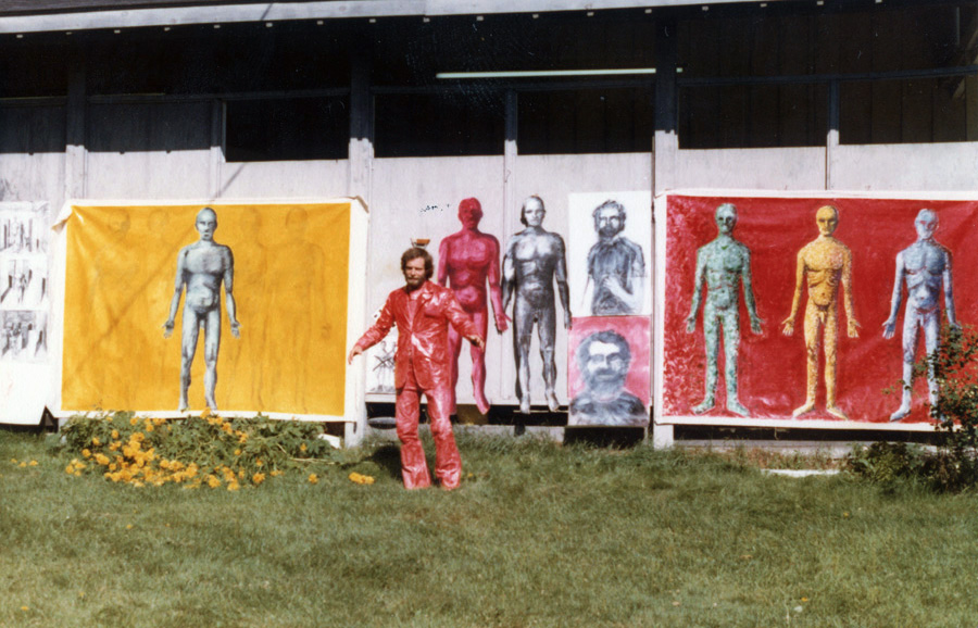 Site-specific work, 1978