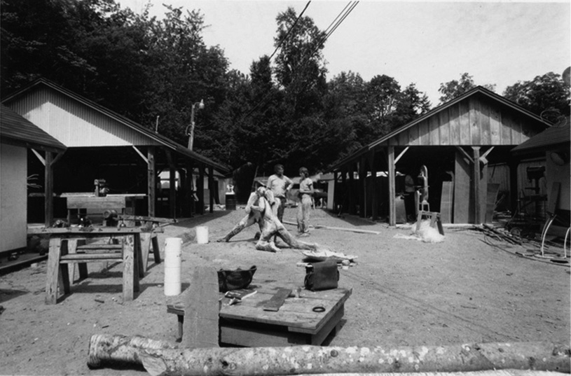 Sculpture yard, 1989