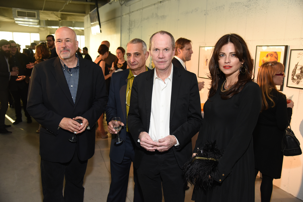 Robert Gober (F '94), Christopher Wool, Richard Prince, Lidia Andich