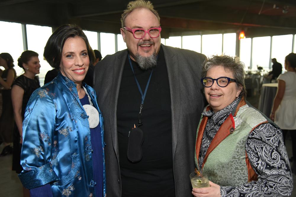 Lindsay Pollock, Martin Kersels (F '10), Sheila Pepe (A '94, F '13)