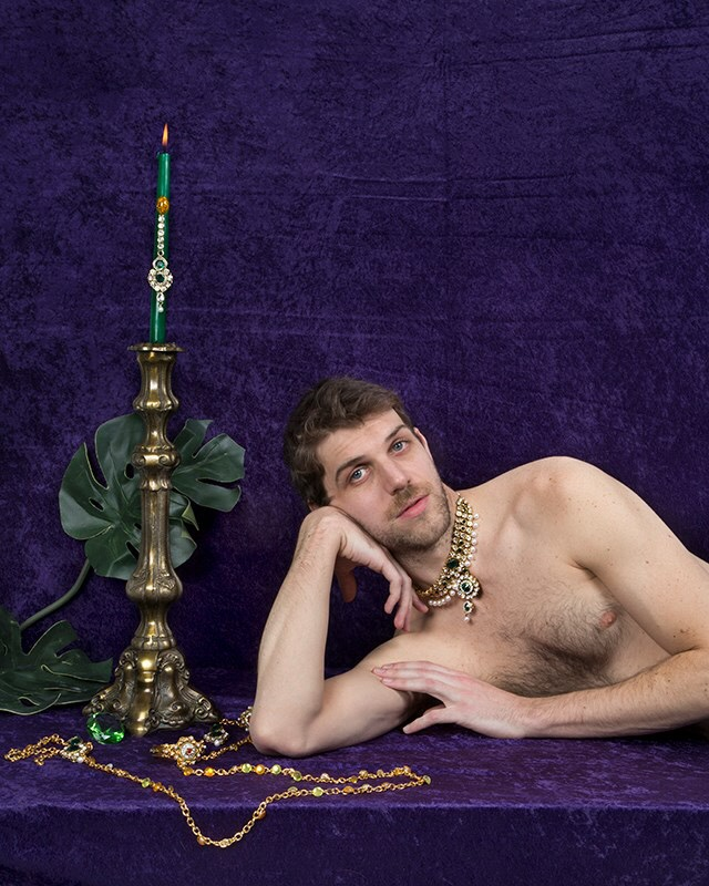 Rachel Stern,  Paul on Purple Velour  (2015)
