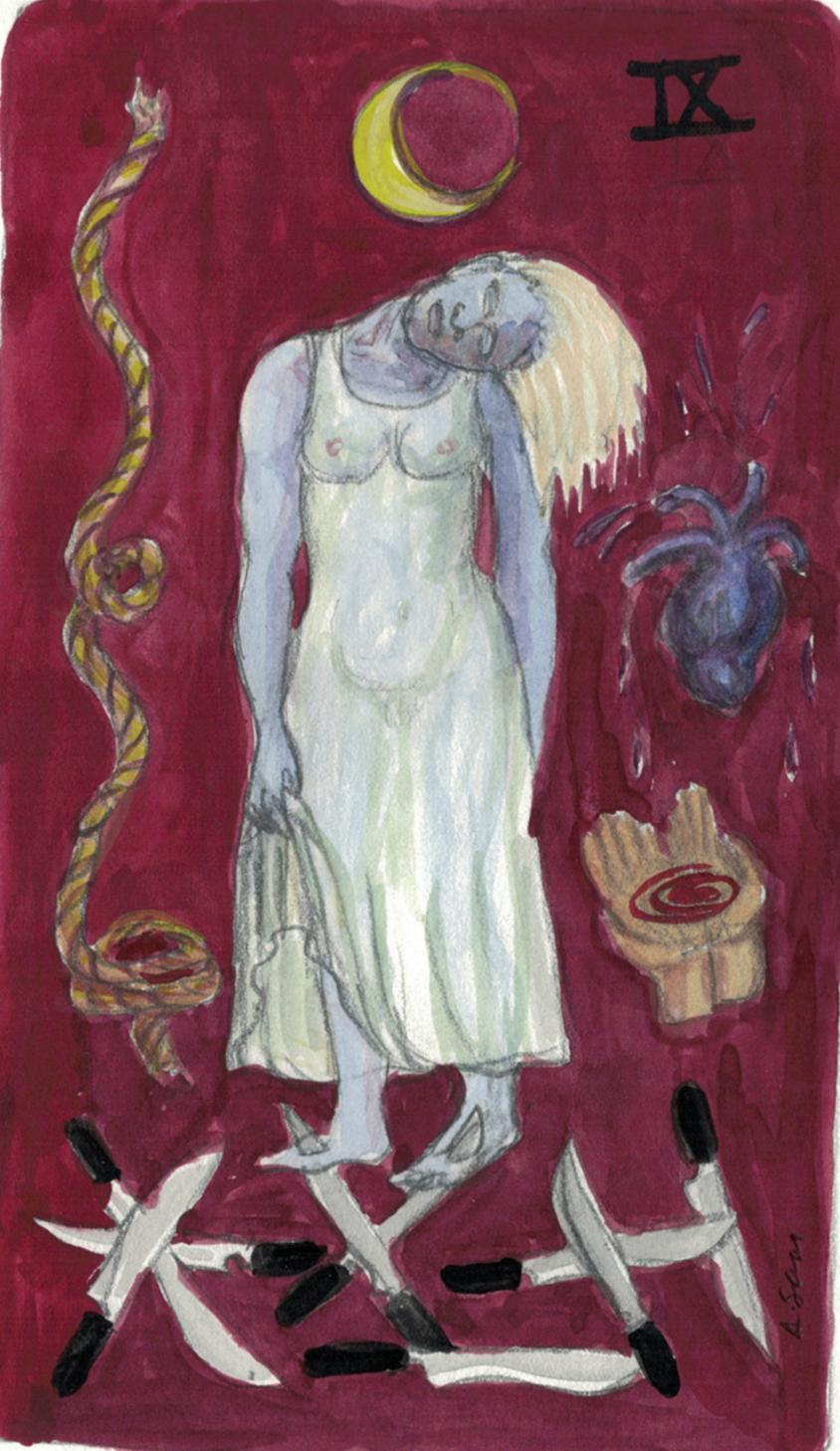 Alison Saar  (F '93) Swords