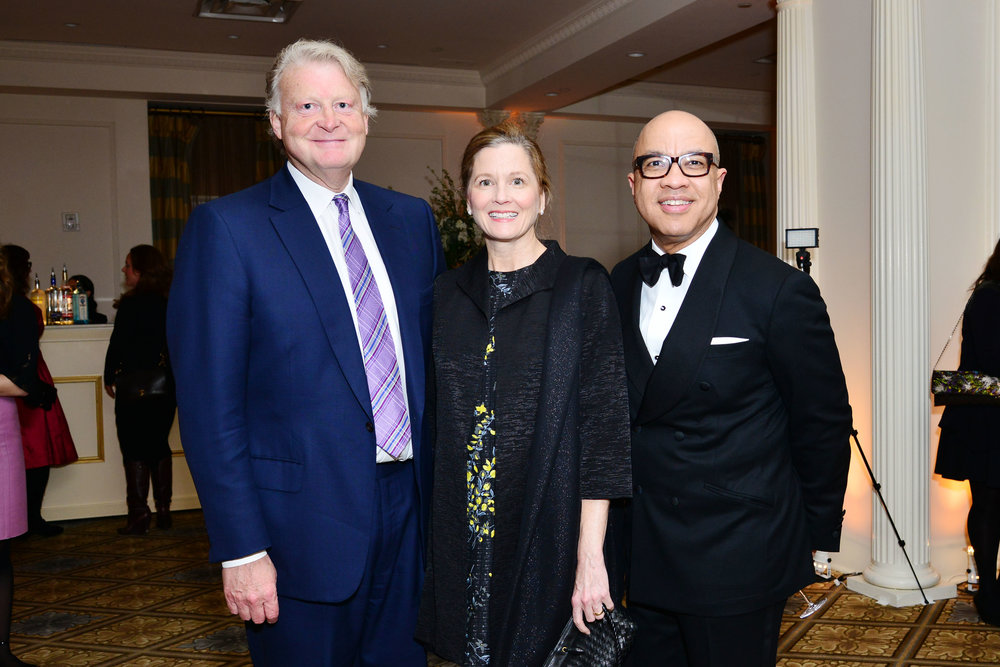 Edward Dolman, Samantha Gilbert, Darren Walker==