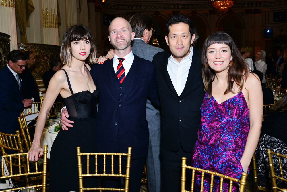 Elizbeth Harney, Sean McElroy, Taibe Low, Sarah Hromack==