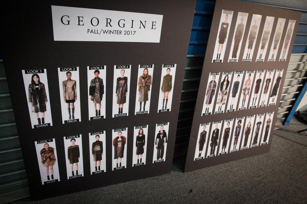 Nu-Mode Magazine NYFW Georgine FW17