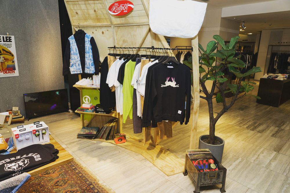 Nu-Mode Magazine Kinfolk Pop Up Lane Crawford
