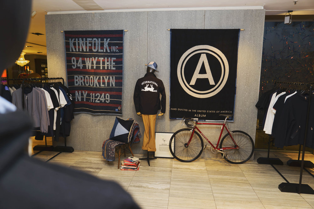 KINFOLK X Lane Crawford Pop Up