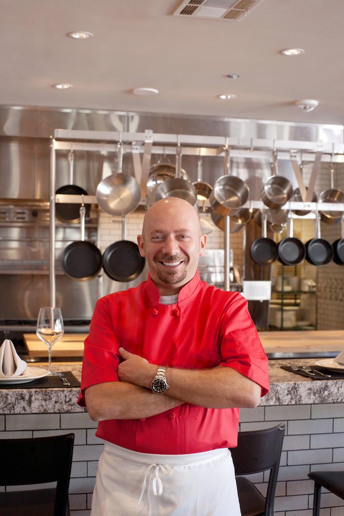 Chef Laurent Poupart