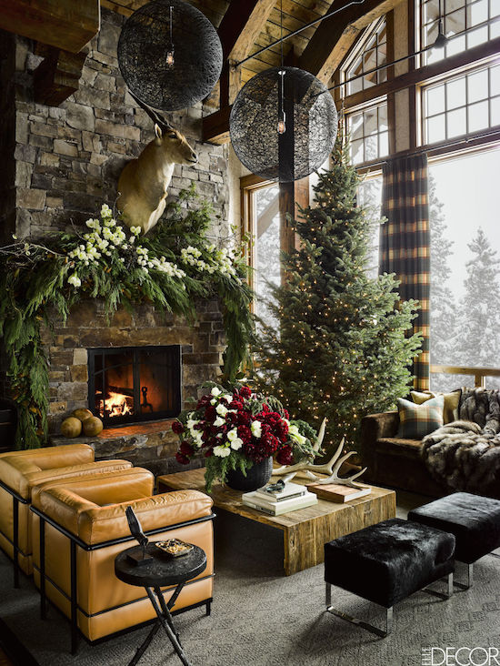 Montana resort home by  Ken Fulk
