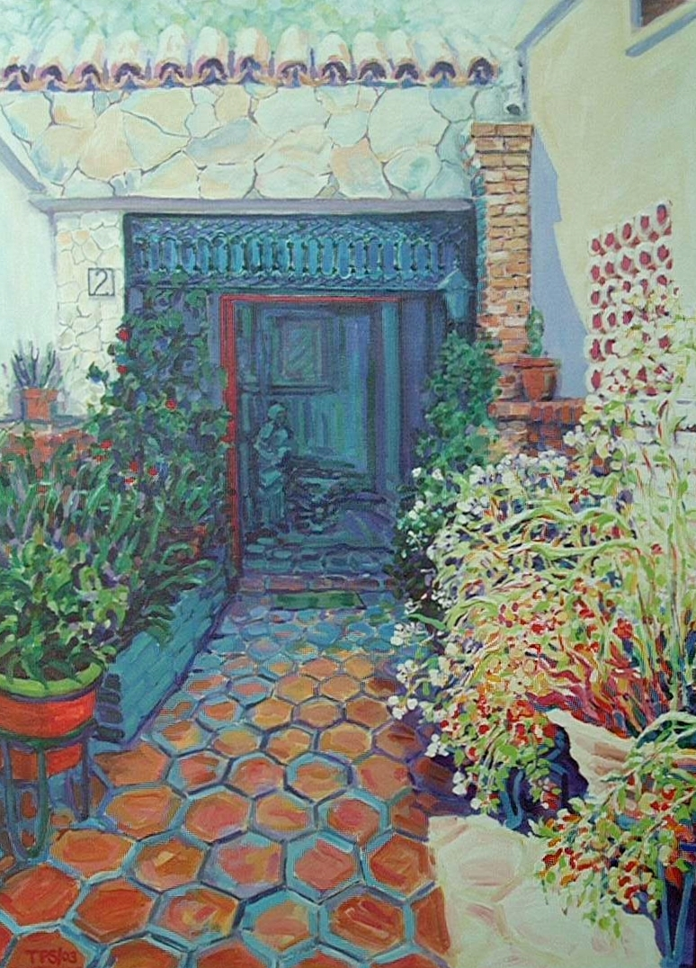"""La Casa"" Acrylic on canvas 40X30"