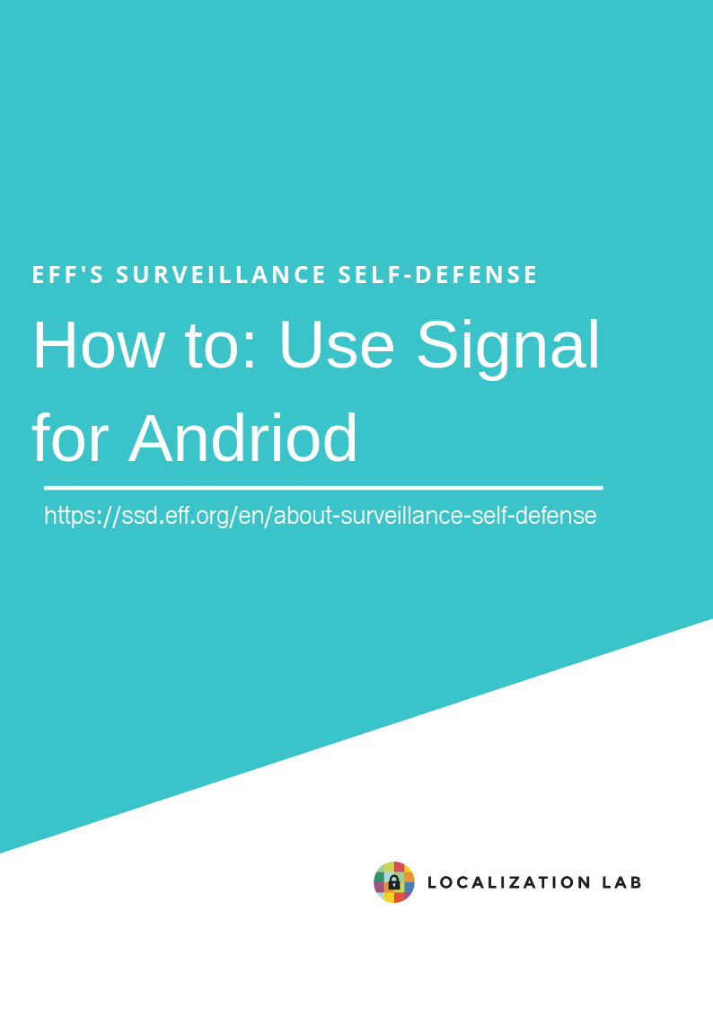 How to: Use Signal for Android