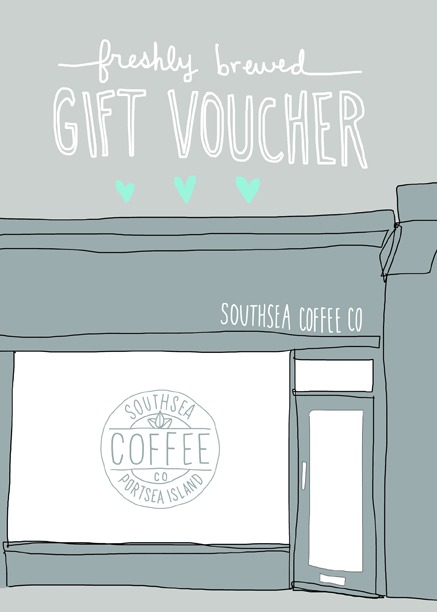 Our amazing gift vouchers. Designed by the talented Angela Chick
