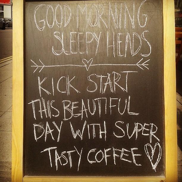Good morning sleepy heads #southsea #southseacoffee #coffee #morning