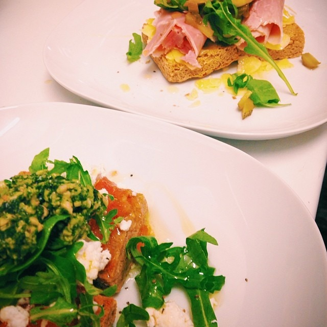 #glutenfree versions of our Buckwells ham sandwich and tostada. #southsea #southseacoffee #portsmouth
