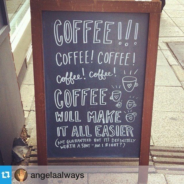 #Repost from @angelaalways —- Coffee! Coffee! Coffee! @southseacoffee #coffee #southseacoffee #makeiteasier