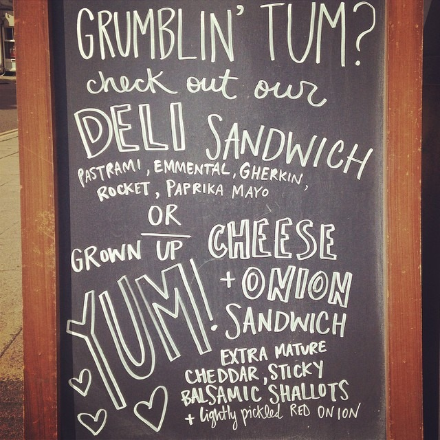Our sandwiches are quite possibly the tastiest sandwiches ;) #southsea #portsmouth #southseacoffee