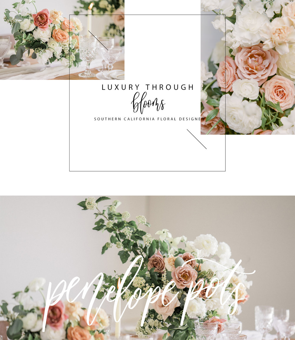 Penelope Pots Floral Design | Southern California Wedding Florist