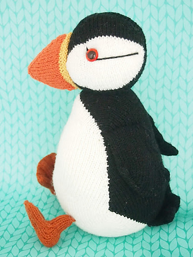 Jamie the Shetland Puffin by Browneyedbabs