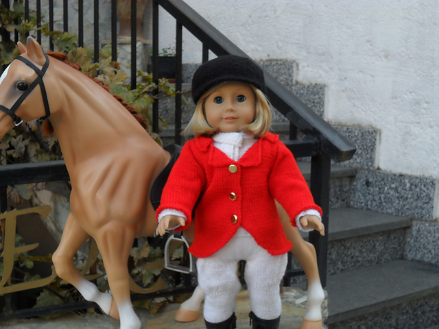 "18"" Doll Equestrian Outfit"