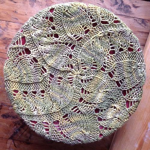 Pinion's lace swirls elegantly to the crown. Photo © Naomi Parkhurst
