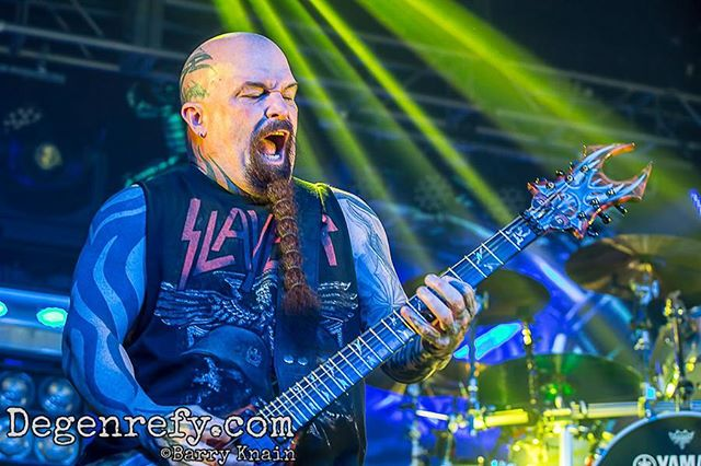 If you missed @slayerbandofficial #Testament and @carcassband at @RitzRaleigh head over to degenrefy.com to check out our coverage of the killer show. Just click the link in our profile. #slayer #carcass #livenation #theritz #ritzraleigh #concert #love #photooftheday #music #bands