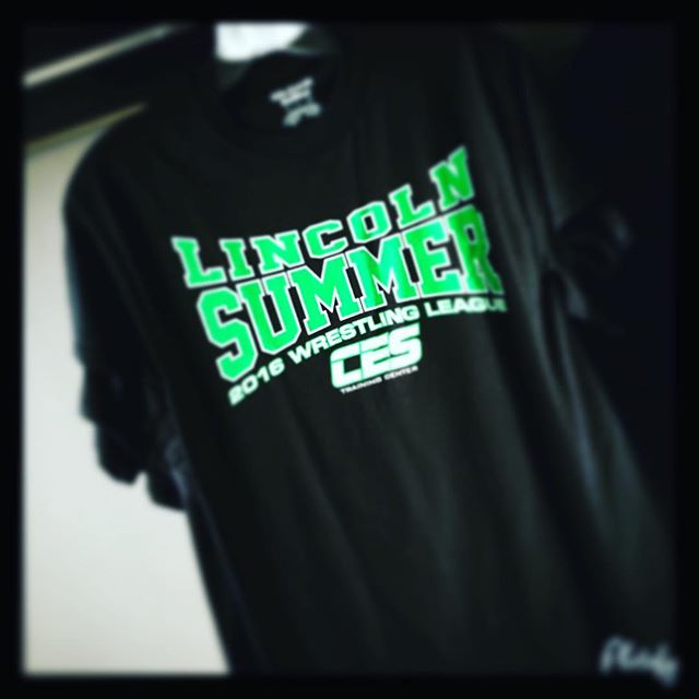 2016 Lincoln Summer Wrestling T-Shirts are still available. All adult sizes are in stock, and a few youth shirts remain. Get yours for $15. Overstock of '15, '14 and '13 styles are marked down to $12!