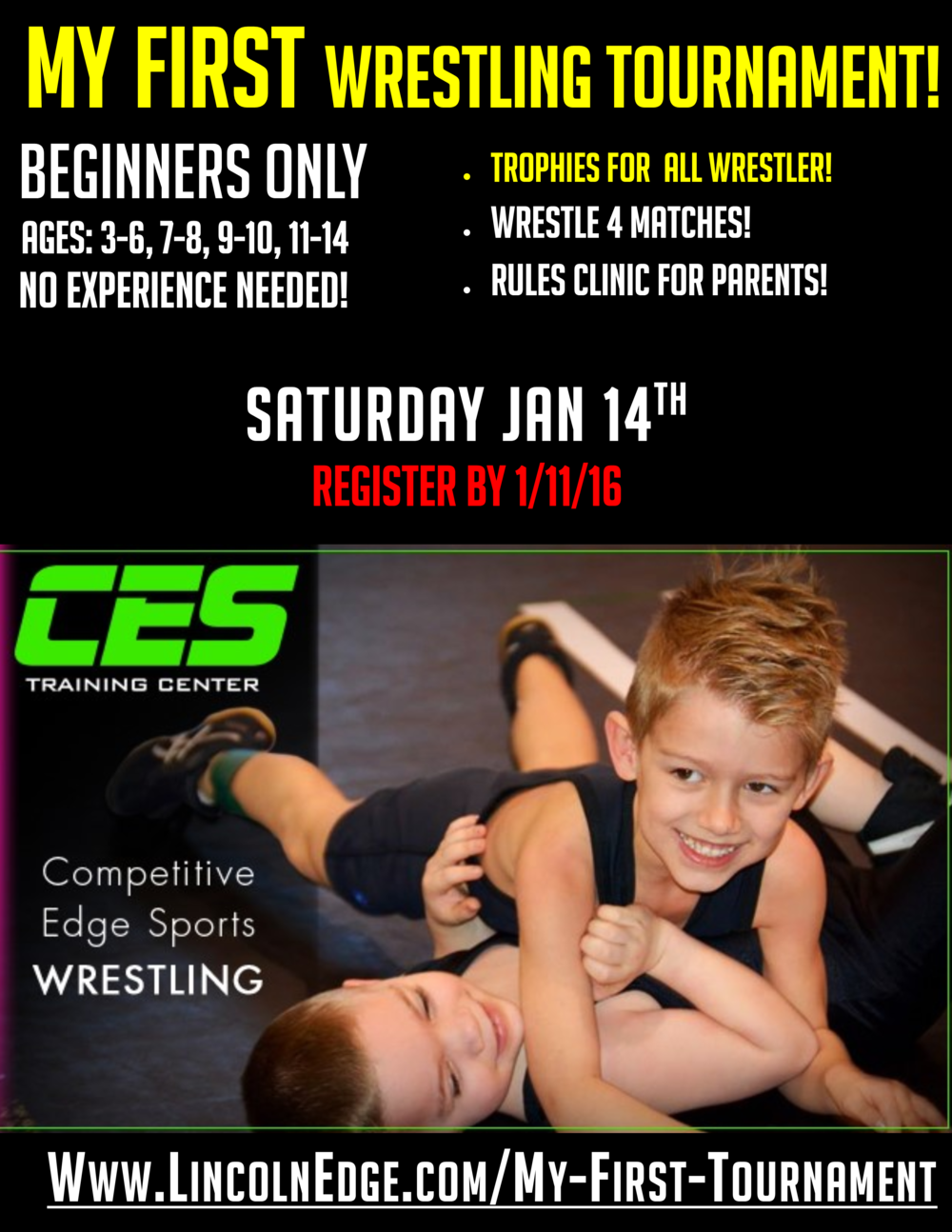Final - 2017 - My First Wreslting Tournament! Poster 11 x 17.png
