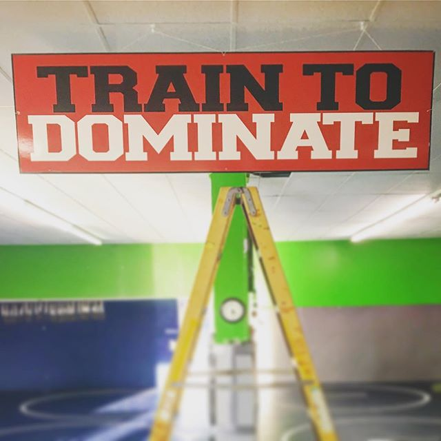 Motivation when you step on the mat at CES Training Center!