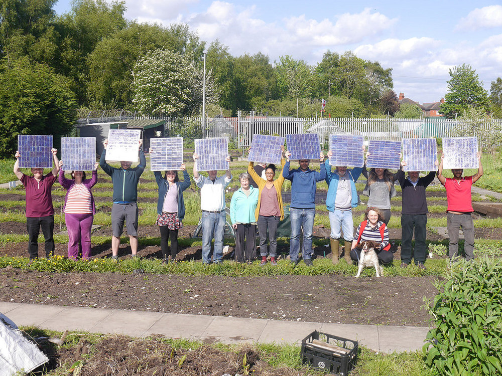 "Photo credit: ""Moss Community Energy Launch,"" flickr user tentenuk"
