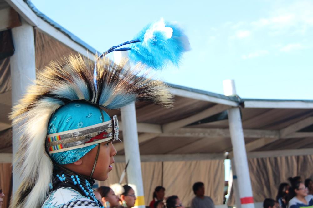 The annual La Plant powwow