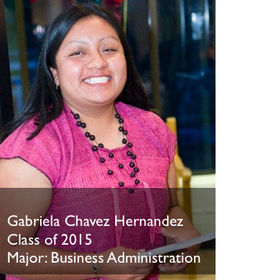 Gabriela Hernandez College Fashionista Gaby is spending the holidays