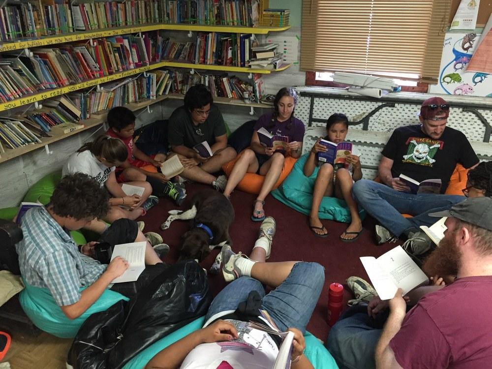 A thriving Book Club!