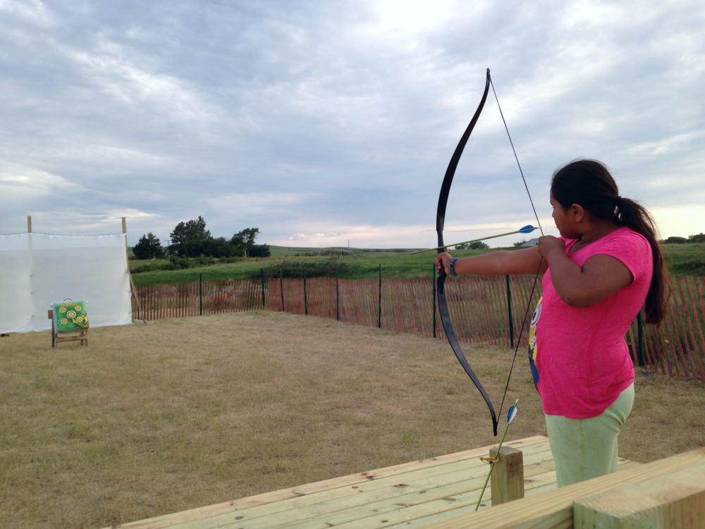 A new archery range!