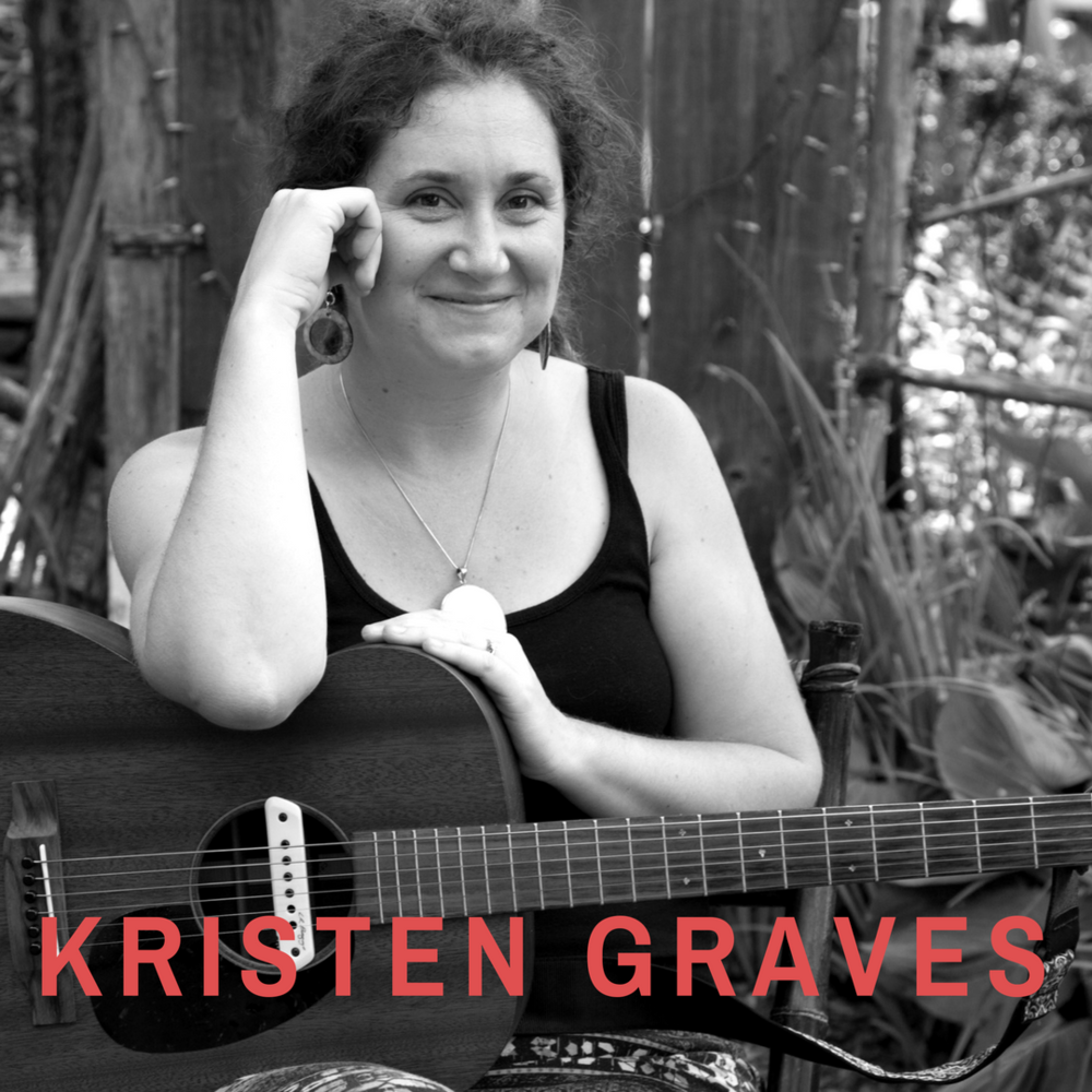 "Kristen Graves is a singer / songwriter and humanitarian who was called the ""next generation of folk music"" in the New York Times and was honored with her own day in the state of Connecticut."